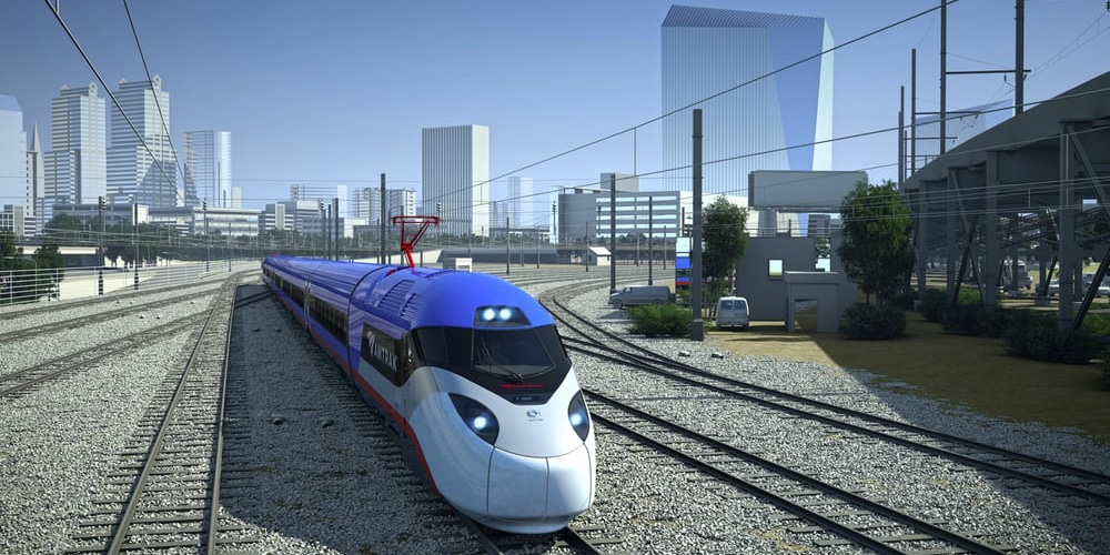 Amtrak's new Acela Express will fly up the Northeast Corridor in 2021. (Photos courtesy of Amtrak)