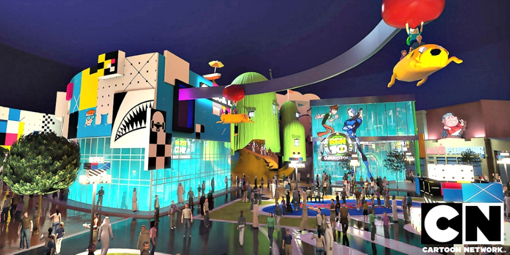 The zone featuring Cartoon Network characters. (Image courtesy of IMG World Adventure)