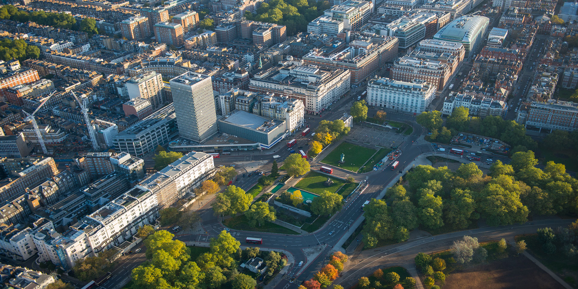 aerial photography london